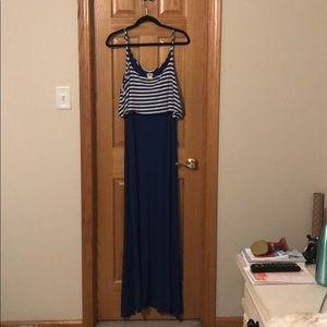 Charming Charlie maxi dress